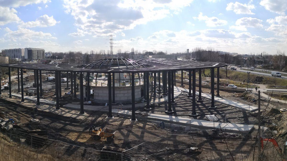 Kolejny etap prac na budowie Centrum Przesiadkowego Brynów
