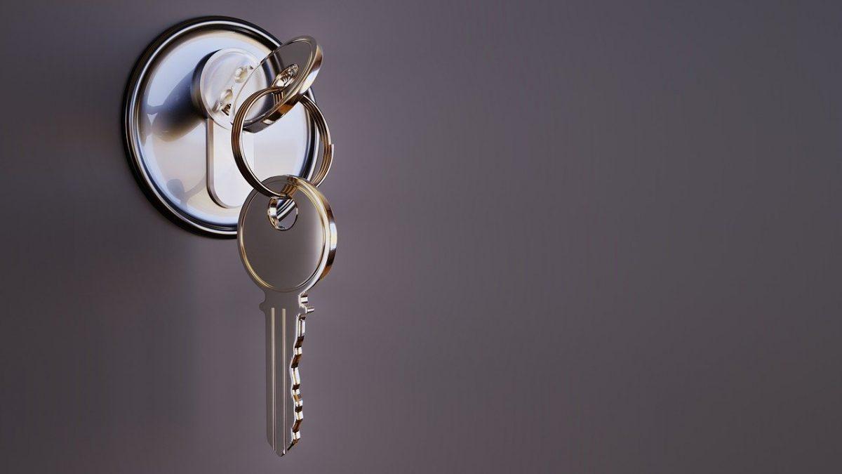 Klucz w zamku