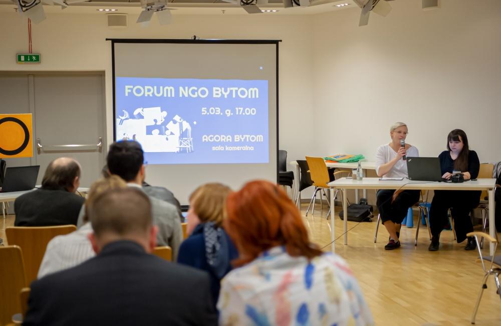 Spotkanie Forum NGO w Bytomiu