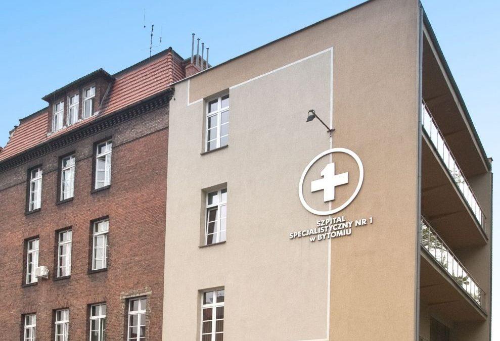 Budynek szpitala w Bytomiu