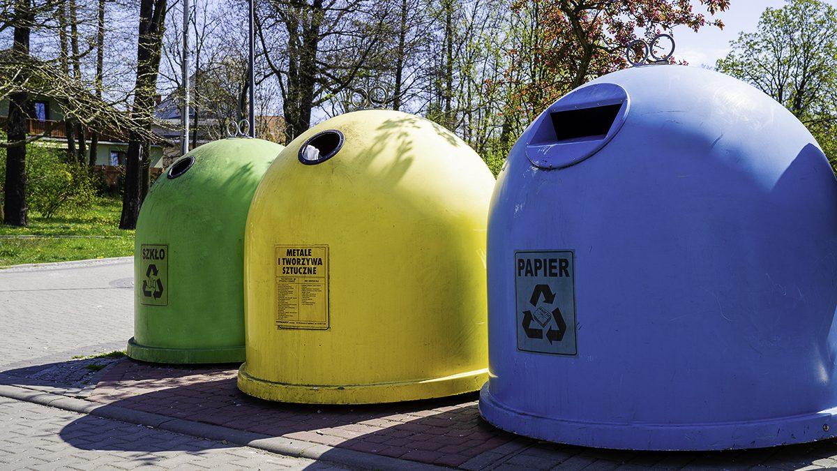 Zbiorniki selektywnej zbiórki odpadów