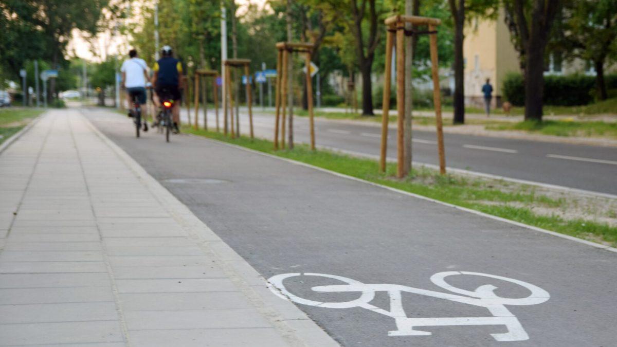 Droga rowerowa w Tarnowskich Górach