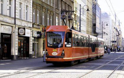 Tramwaj w Katowicach