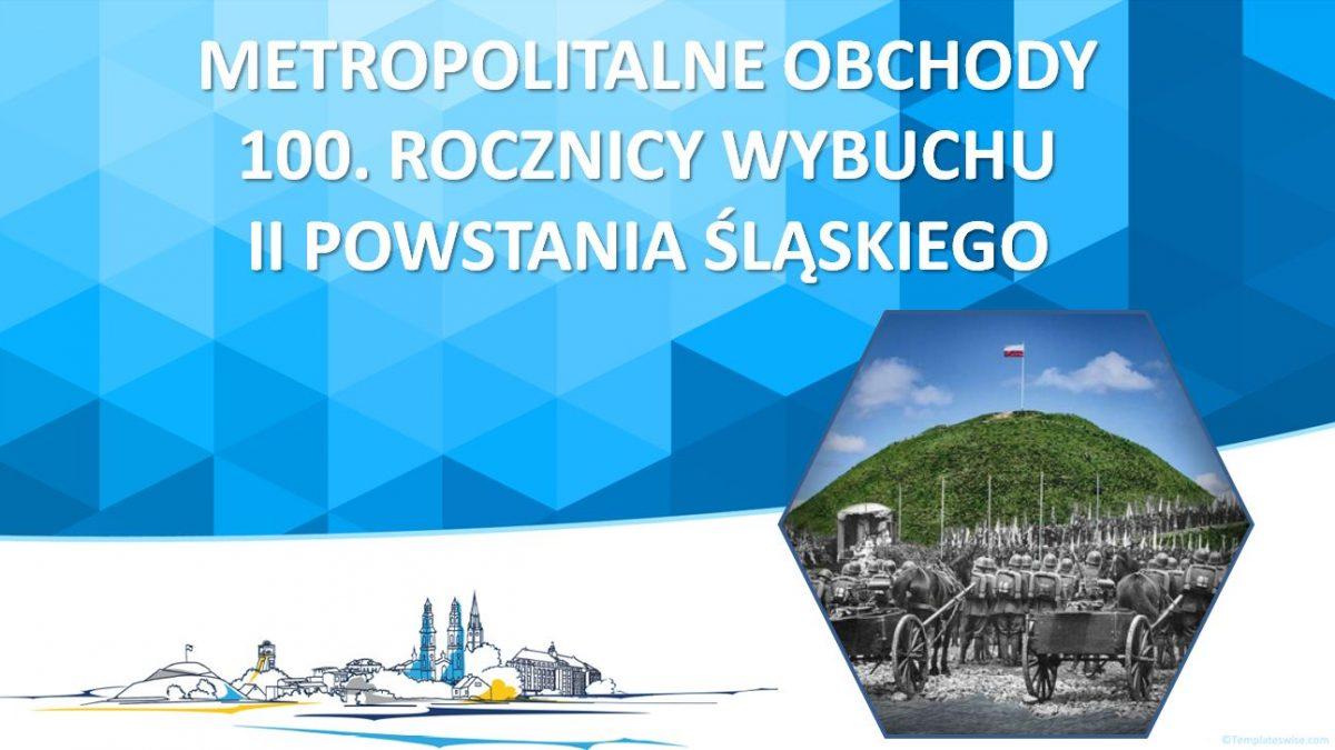 Metropolia wsparła dotacją obchody 100. rocznicy II powstania śląskiego