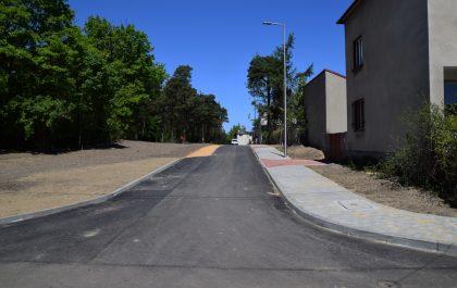 Budowa ulicy w Siewierzu