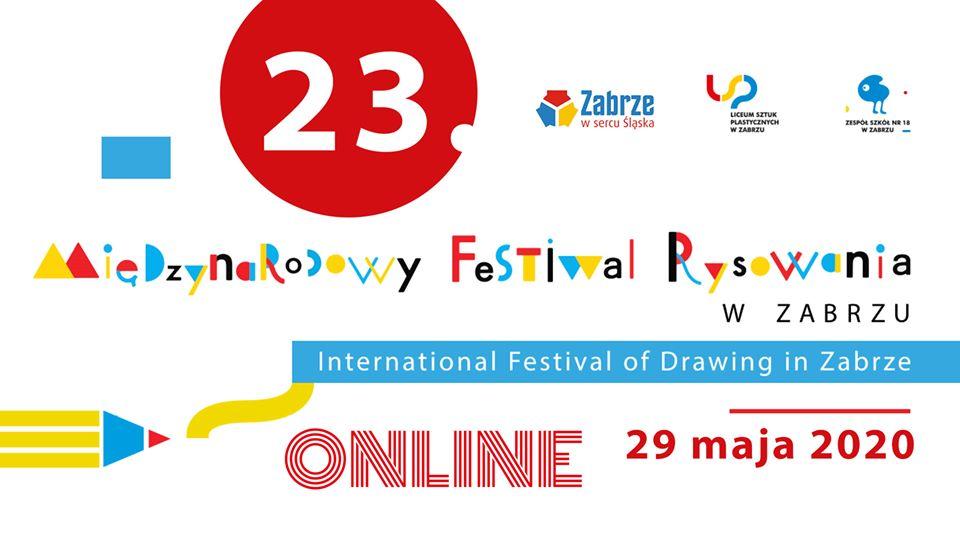 XXIII Międzynarodowy Festiwal Rysowania w Zabrzu – tym razem online!