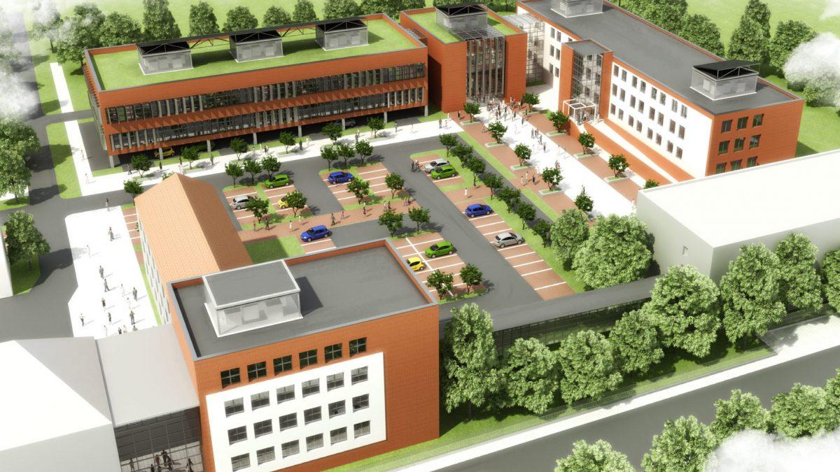W Zabrzu ruszyła budowa Śląskiego Centrum Inżynierskiego Wspomagania Medycyny i Sportu