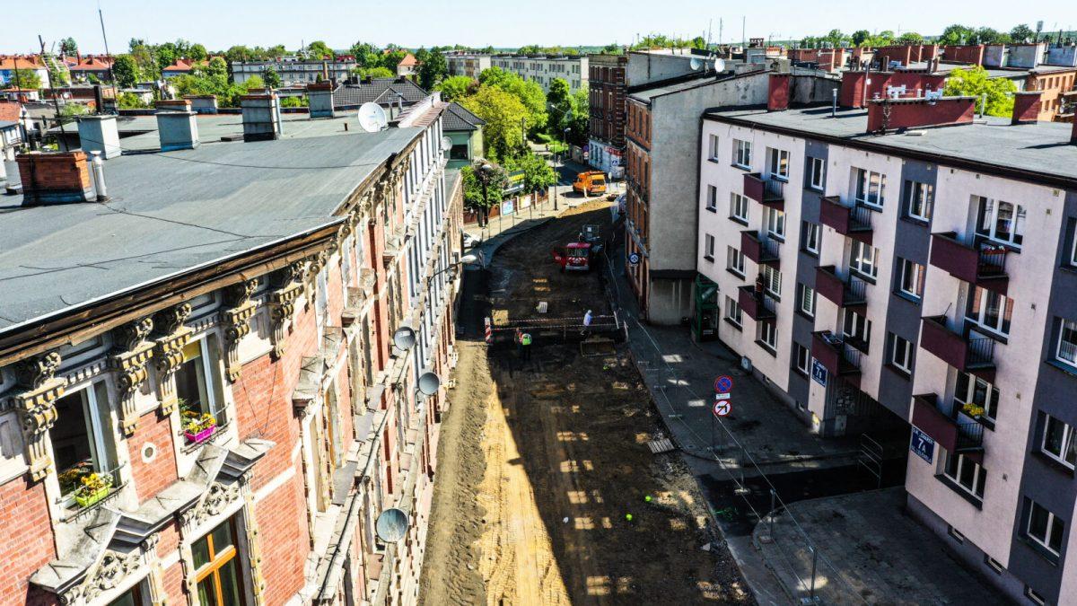 Trwa remont ulicy Powstańców Śląskich