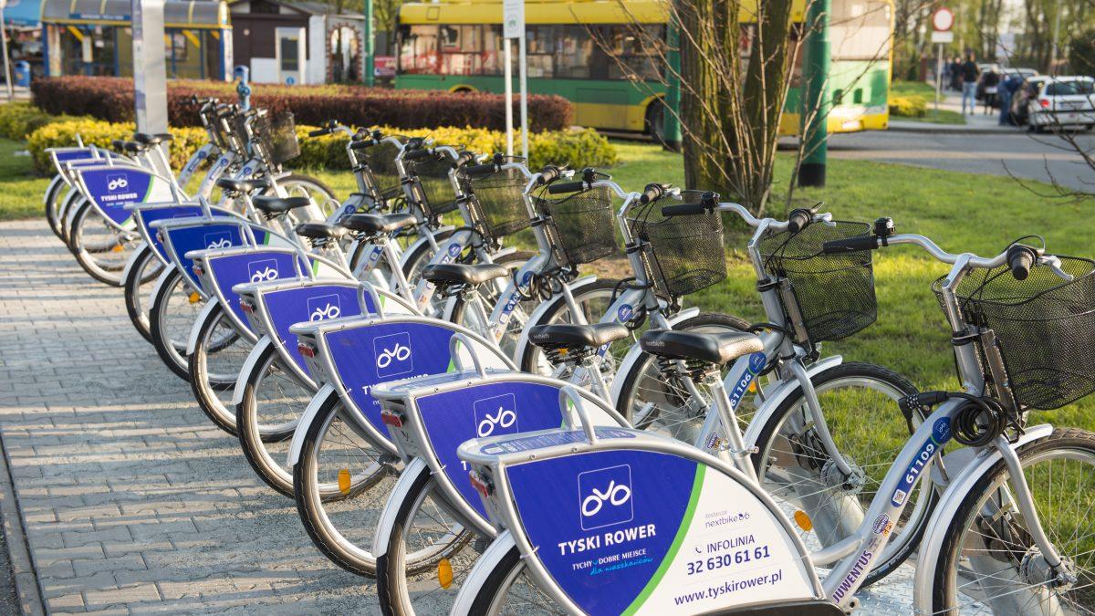 Rusza wypożyczalnia rowerów miejskich w Tychach