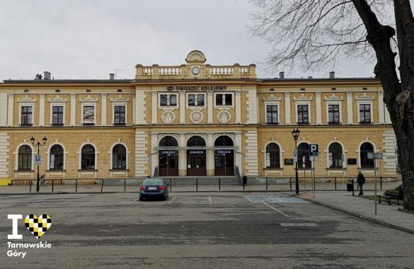Dworzec PKP w Tarnowskich Górach