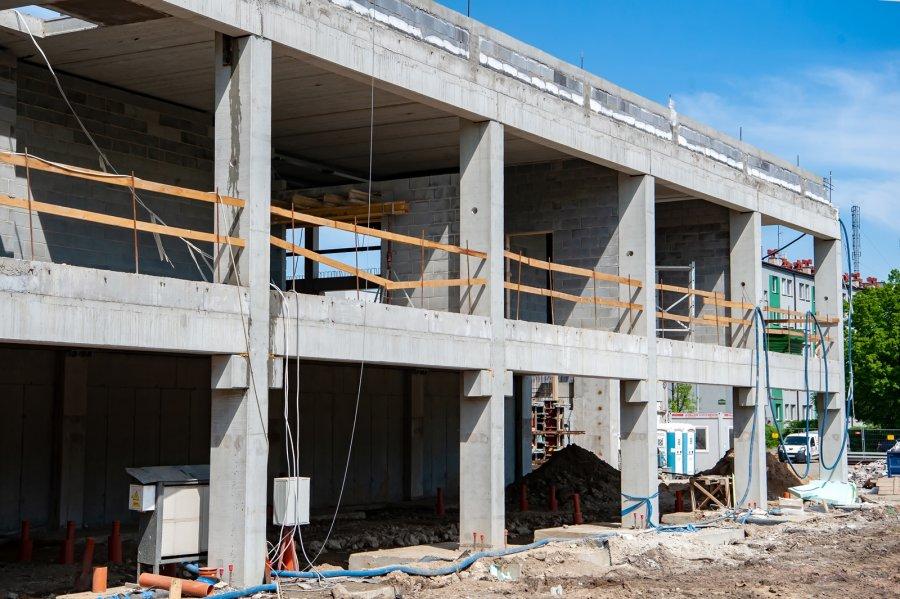 Budowa hali lodowiska – wiadomości z placu budowy