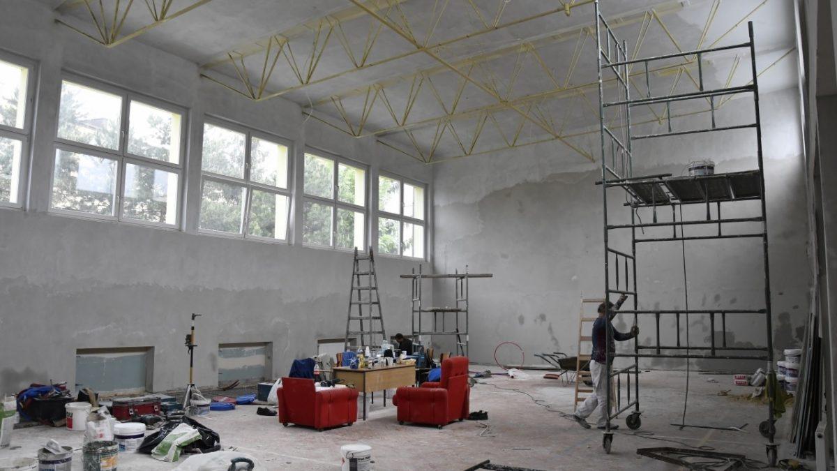 remont sali gimnastycznej