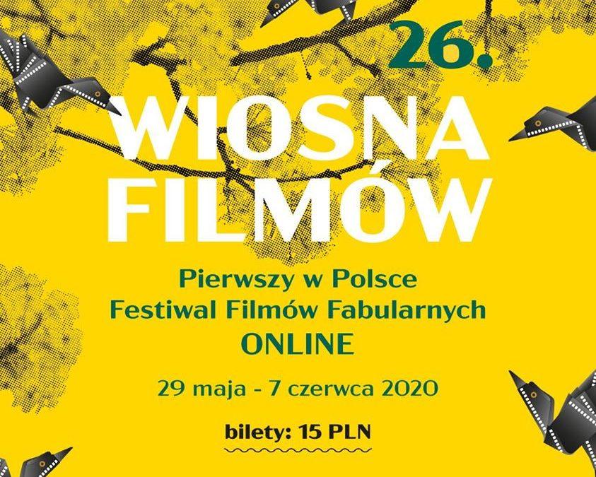 26. Festiwal Filmowy Wiosna Filmów w Kinie KADR