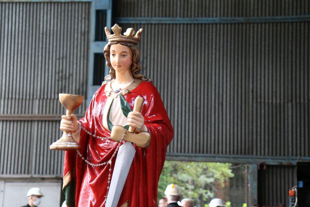 Figura św. Barbary