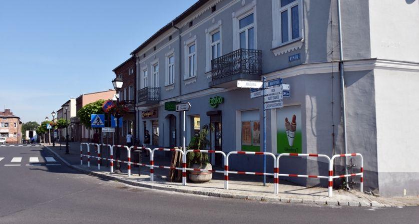 Ulica w Siewierzu