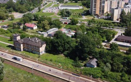 panorama dzielnicy Gołonóg