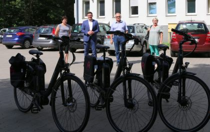 Rowery elektryczne dla sołtysów