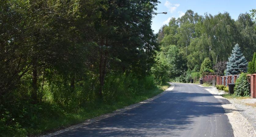 Droga w mieście po remoncie