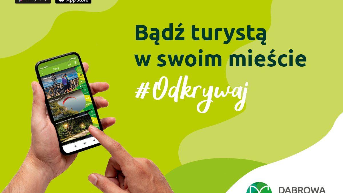plakat reklamujący aplikację