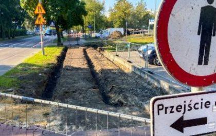 Budowa drogi rowerowej