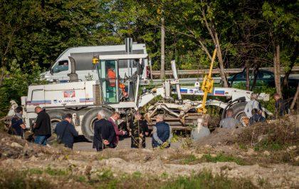 Początek budowy linii tramwajowej w Sosnowcu
