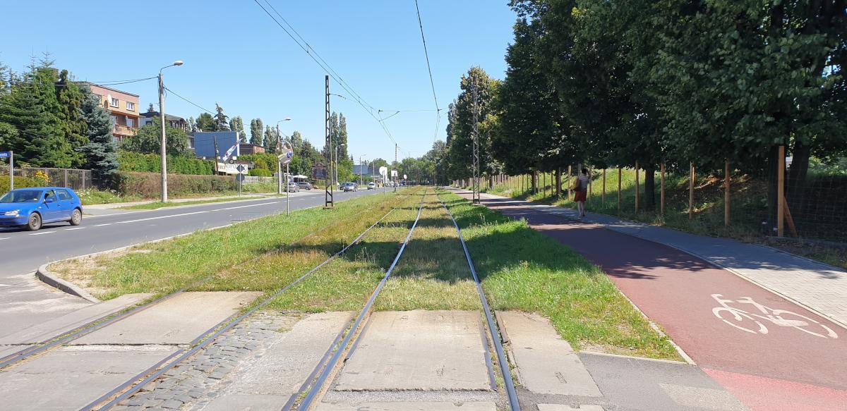 Torowisko tramwajowe