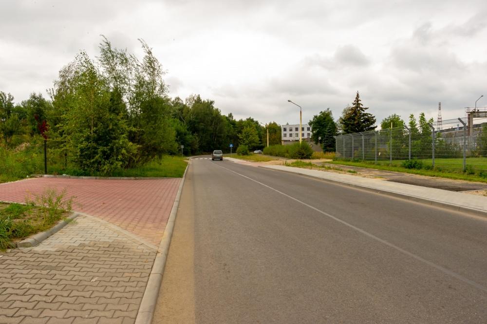 Wyremontowana droga