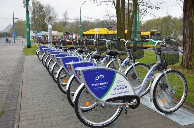 Rowery Miejskie w Tychach