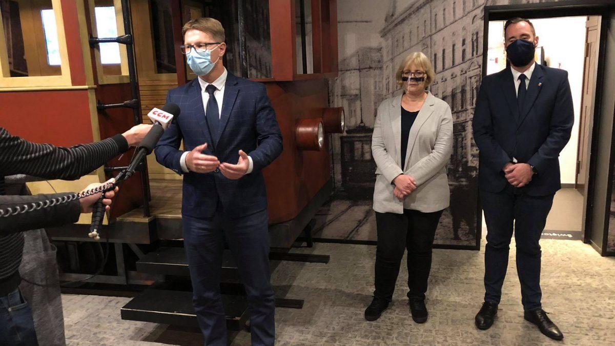 Muzeum Powstań. Prezydent miasta przedstawia mediom nową p.o. dyrektora placówki