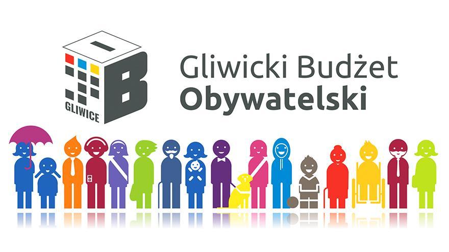 Budżet obywatelski Gliwice - plakat