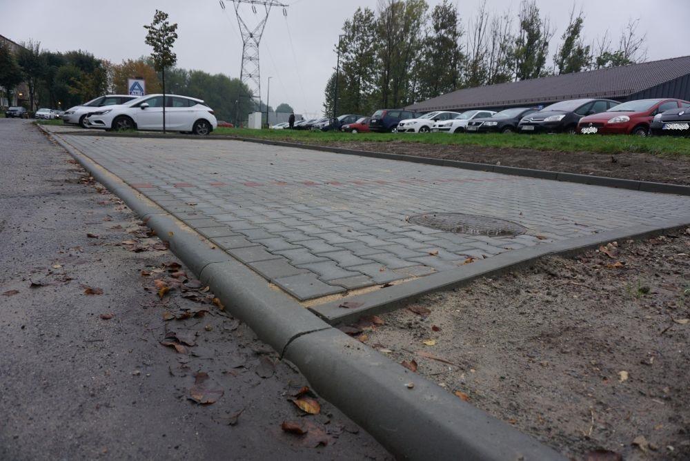 Budowa parkingu w Piekarach Śląskich