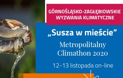 Grafika promująca Climathon 2020