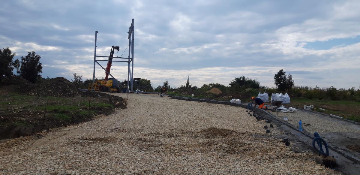 Budowa Parku Linearnego w Psarach