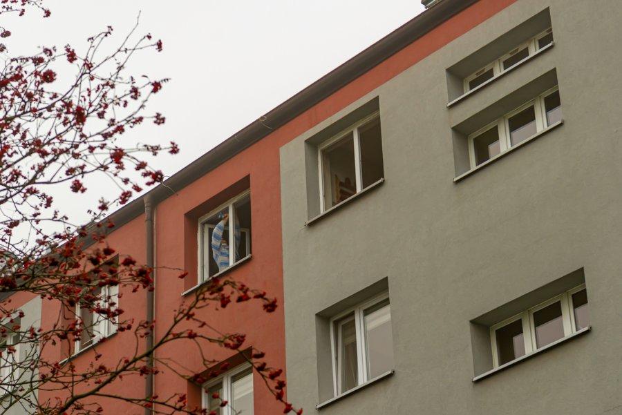 Wymiana okien w budynku