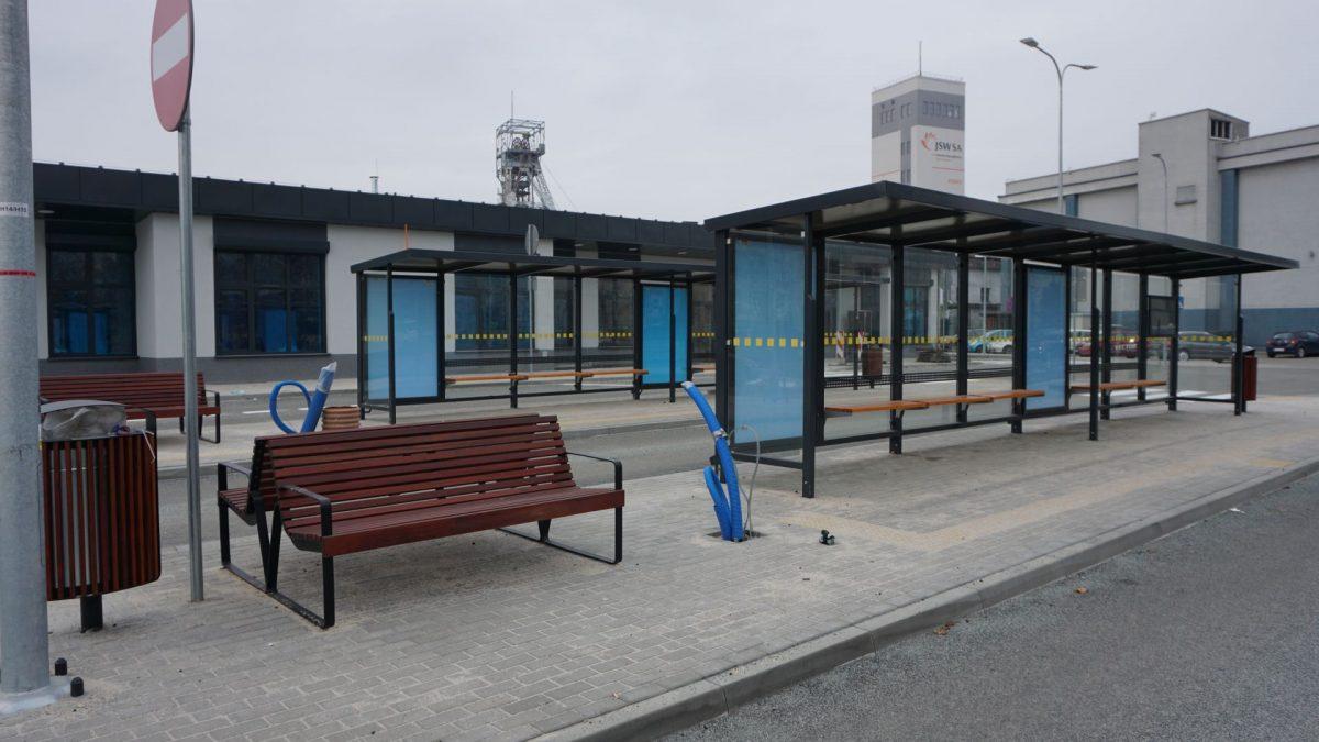 zdjęcie peronów Centrum Przesiadkowego Foch