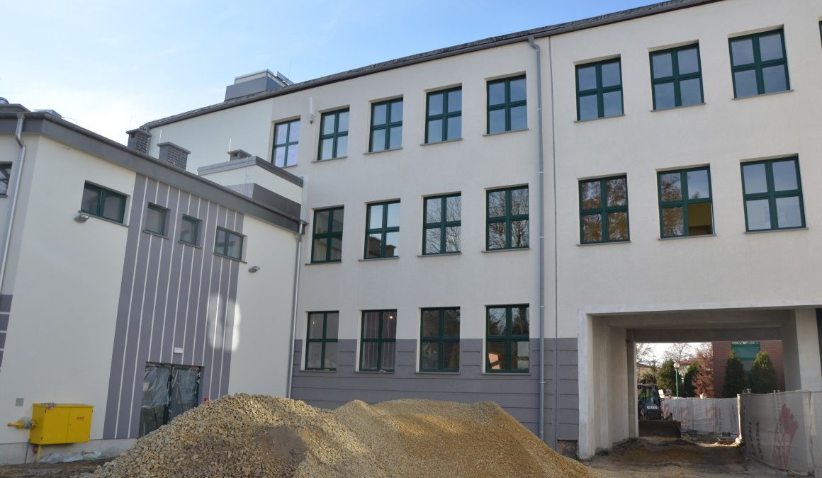 Budowa sali gimnastycznej przy SP1