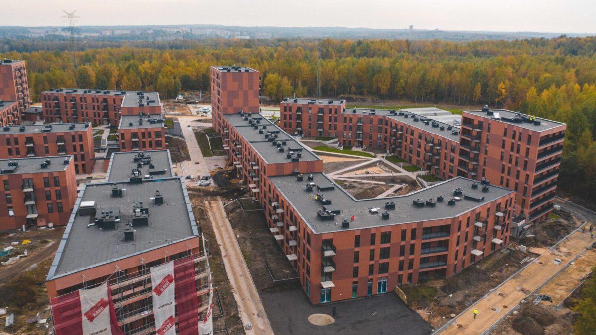 Osiedle nowych mieszkań