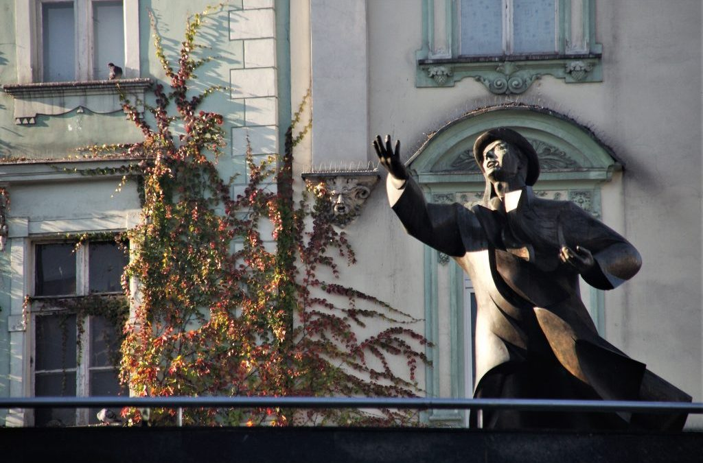 Pomnik Jana Kiepury w Sosnowcu