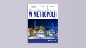 """Okładka magazynu """"W Metropolii"""""""