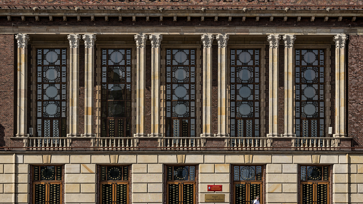 Fasada pałacu