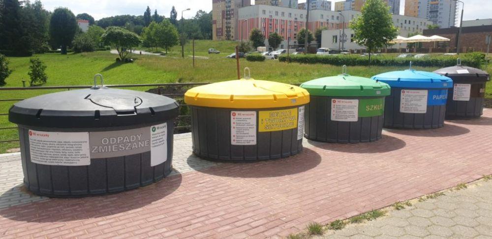 Pojemniki do segregowania odpadów