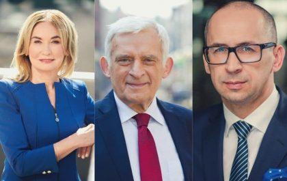 Celina Olszak, Jerzy Buzek, Kazimierz Karolczak