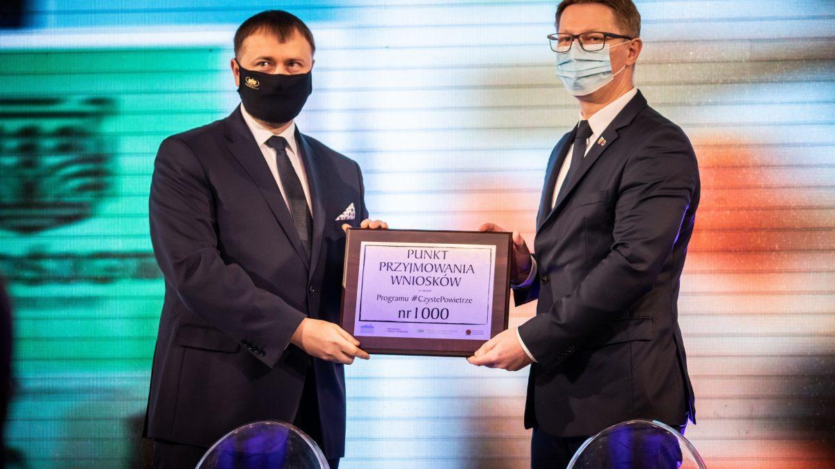 Prezydent Świętochłowic odbiera tytuł Miasta w programie