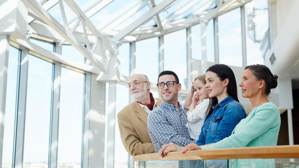 Rodzina - 5 osób, trzy generacje
