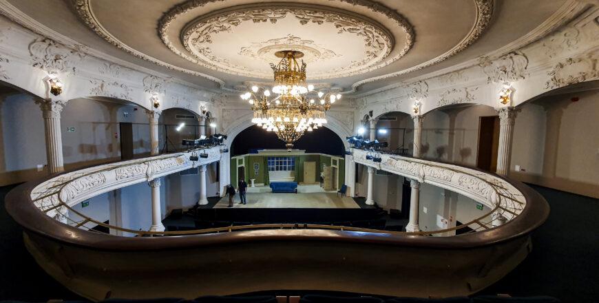 Odnowiona scena Teatru Nowego