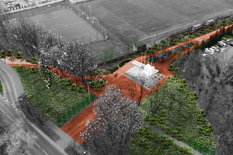 Projekt rewitalizacji przestrzeni miejskiej na Wirku
