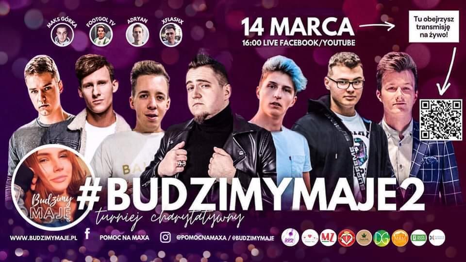 Plakat #BudzimyMaje2