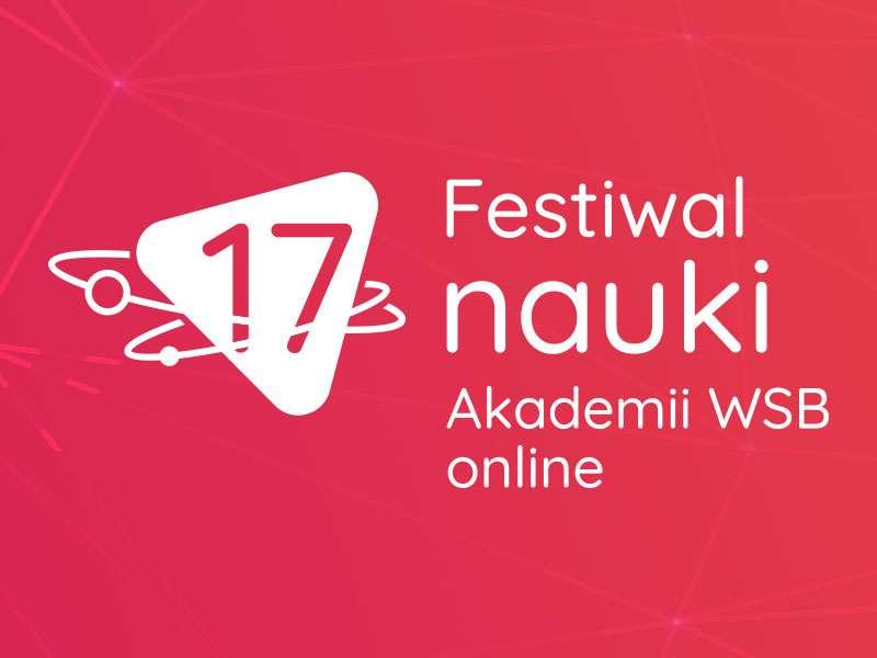 baner reklamujący 17. festiwal nauki akademii wsb
