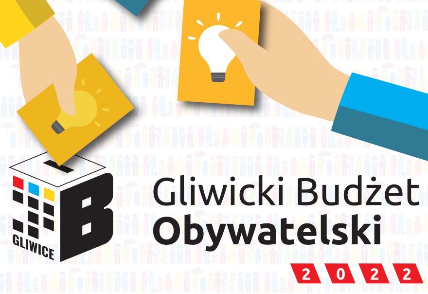 Plakat - Gliwicki budżet obywatelski