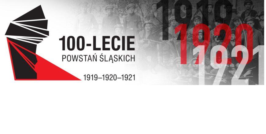 Baner z okazji 100. rocznicy wybuchu III Powstania Śląskiego